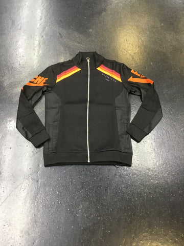 Vie Riche Mixed Media Track Jacket
