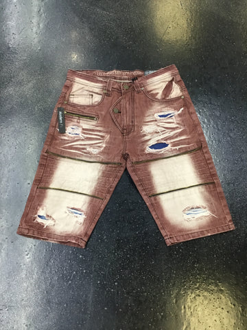 Elite Denim Burberry Jazz Shorts