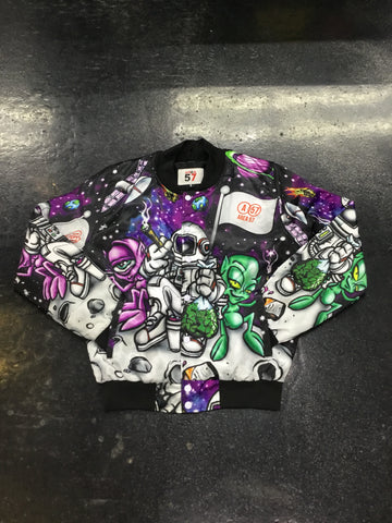 Area57 Moon bomber jacket