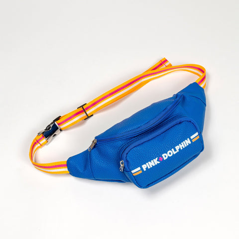Pink Dolphin Logo Sling Pouch