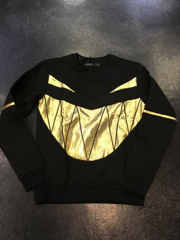 Hudson monster gold crewneck