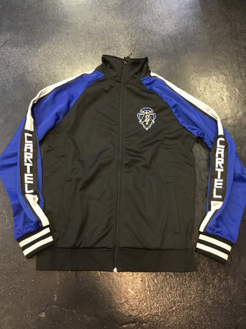 Hudson cartel patch track jacket