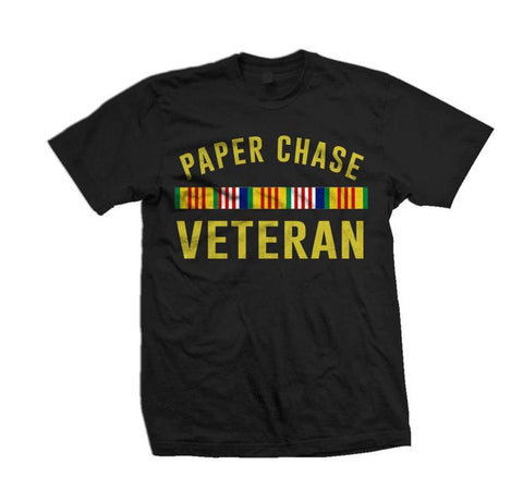 Million Dollar Motive Paper Chase Veteran tee