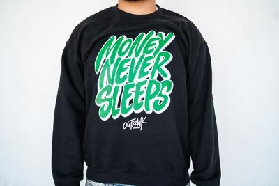 Outrank Money Never Sleeps Crewneck