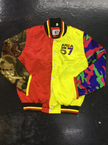 Area 57 bomber jacket camo