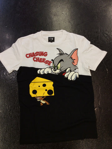 FTW chasing cheese tee
