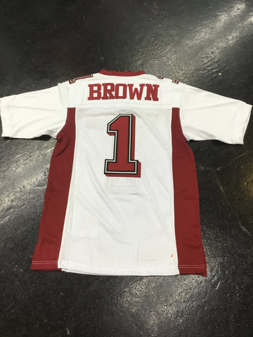 Headgear Antonio Brown high school Football Jersey