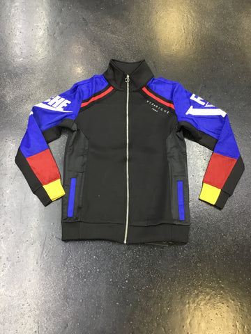 Vie Riche SS Mixed Media Track Jacket