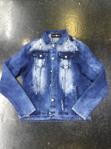 Rawyalty raw denim jacket
