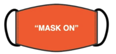 Hudson mask on face mask