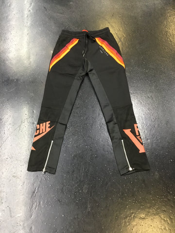 Vie Riche Mixed Media Track Pants