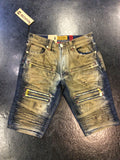 Makobi dirty wash shorts