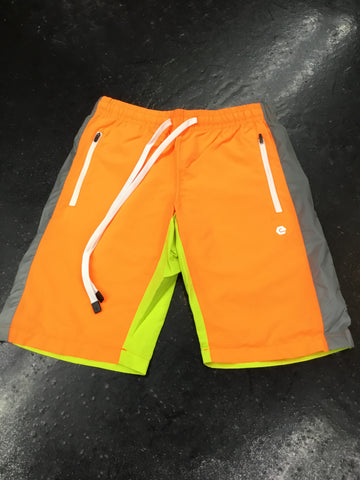 Elbowgrease Colorblock Gray Shorts