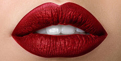 Red Long Lasting Liquid Matte Metallic Lipstick