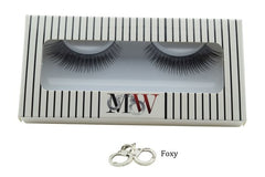Box of beautiful false eyelashes from Makeup Worship