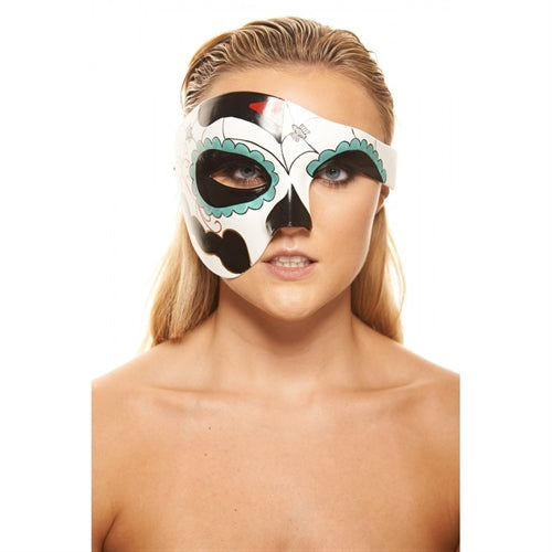 Day of Dead Plastic Mask