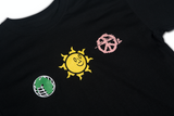 SUNSHINE + PEACE + EARTH LONG - SLEEVE