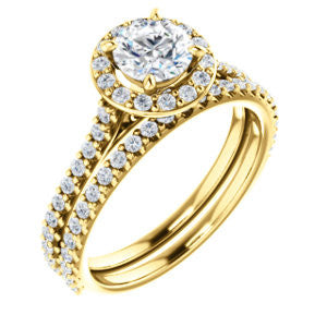 Diamond Halo 1 Carat Engagement Ring - Crestwood Jewelers