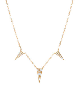 Tesoro 14K Diamond Fashion Necklace - Crestwood Jewelers