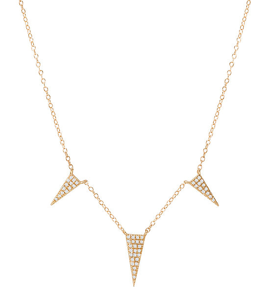 Tesoro 14K Diamond Fashion Necklace