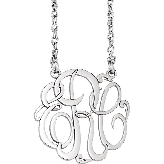 Monogram Necklace - Crestwood Jewelers
