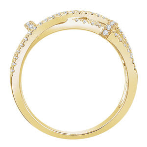 14K Yellow 1/2 CTW Diamond Ring - Crestwood Jewelers