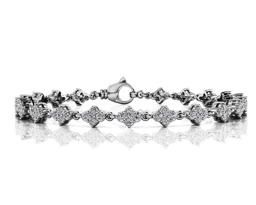14K 1.75 CTTW Diamond Tennis Bracelet