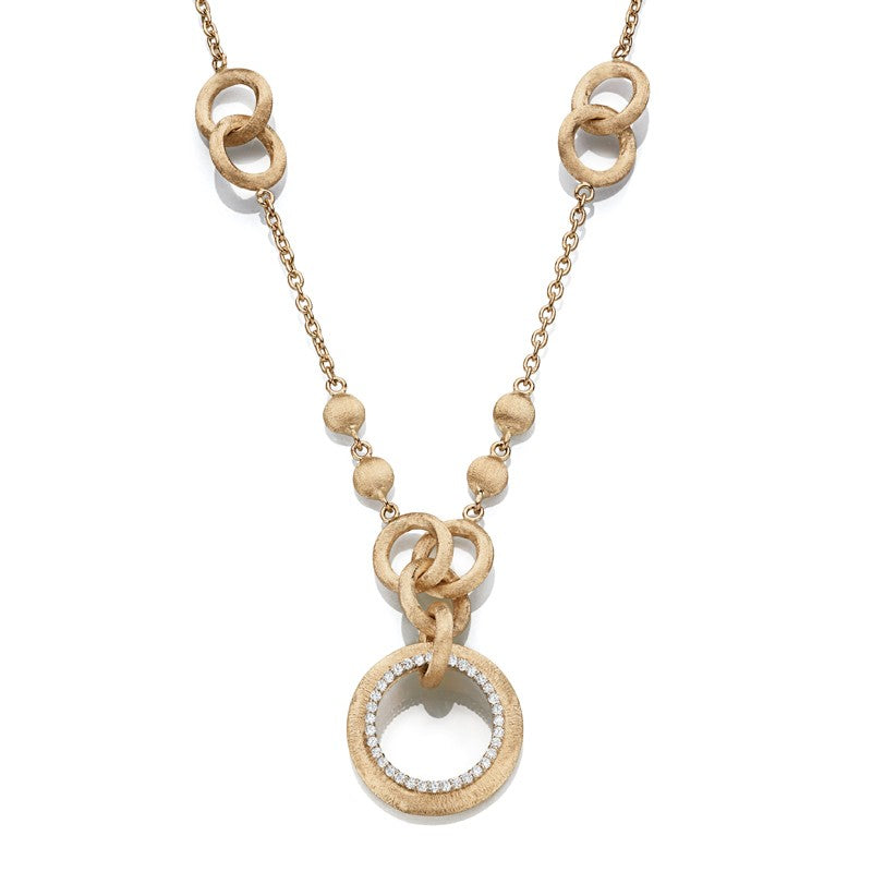 14K Couture Italian Necklace
