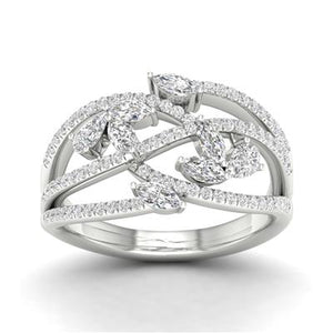 White Gold 7/8 CTTW Diamond Fashion Ring - Crestwood Jewelers