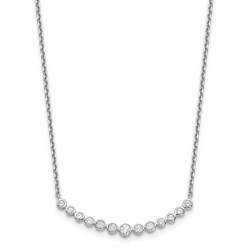 14k White Gold Diamond Necklace - Crestwood Jewelers