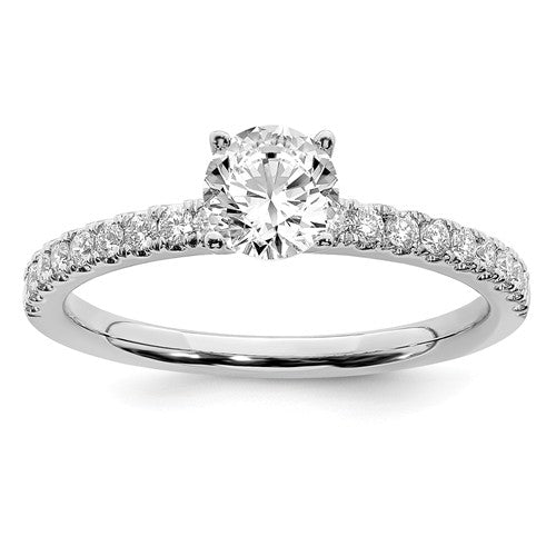 14KW Lab Grown Diamond Engagement Ring - Crestwood Jewelers