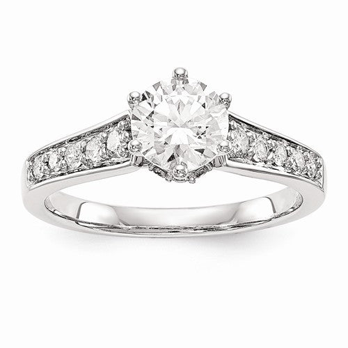 1.14CT. White Gold Diamond Engagement Ring - Crestwood Jewelers