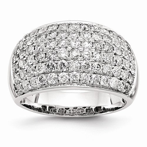 14k White Gold Fancy Diamond Ring - Crestwood Jewelers