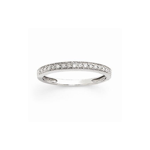 14k White Gold Diamond Ring - Crestwood Jewelers
