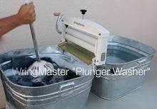 "Plunger Washer ""the easy way to hand wash laundry"""