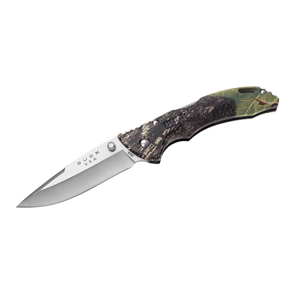 Buck Knives 285 Mossy Oak Bantam BLW