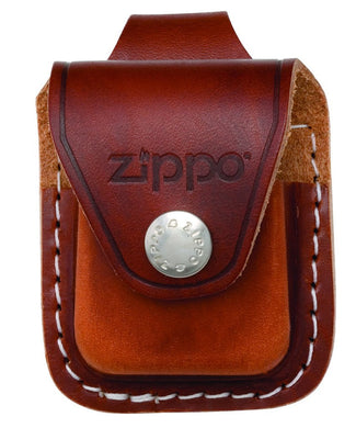 Zippo Brown Leather Lighter Pouch, Belt Loop