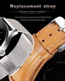 Lemfo K88H Smartwatch IPS Screen Heart Rate Monitor Bluetooth compatible with iOS and Android Waterproof - PickeDGadgeT