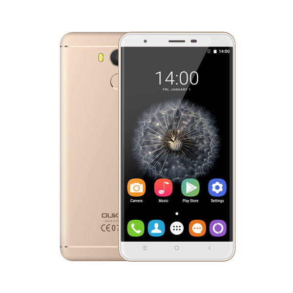 "Oukitel U15 Pro MT6753 Octa Core 1.3GHz 4G LTE 3000mAh 5.5"" HD 3GB RAM 32GB ROM 16.0MP Fingerprint ID - Merimobiles"