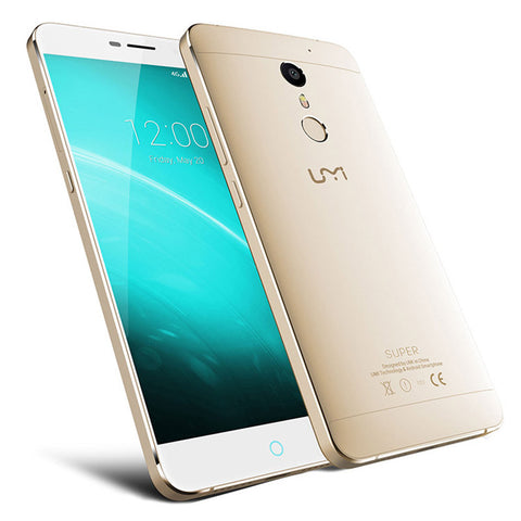 Umi Super Touch ID Helio P10 MTK6755 2.0GHz Octa Core 5.5 Inch  FHD 4G RAM 32G ROM 4000mAh Android 6.0 4G LTE *EUROLINE AVAILABLE* - PickeDGadgeT