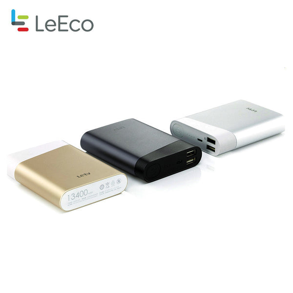 Letv Ultra-thin QC2.0 Two-way Quick Charge Double USB 13400mAh power bank - PickeDGadgeT