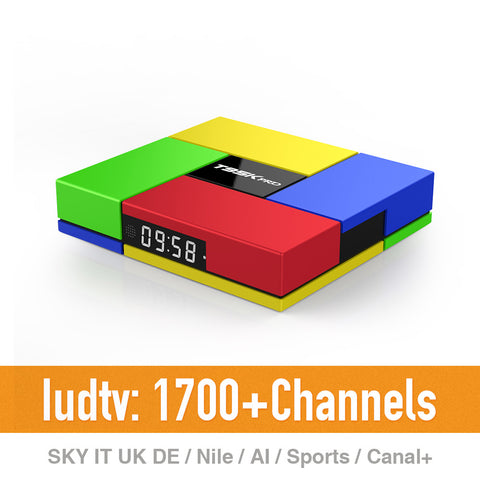 T95K Pro IPTV Box with 1 Year Europe IPTV 1700+ Arabic French Turkish Sport Sky 2GB/16GB - PickeDGadgeT