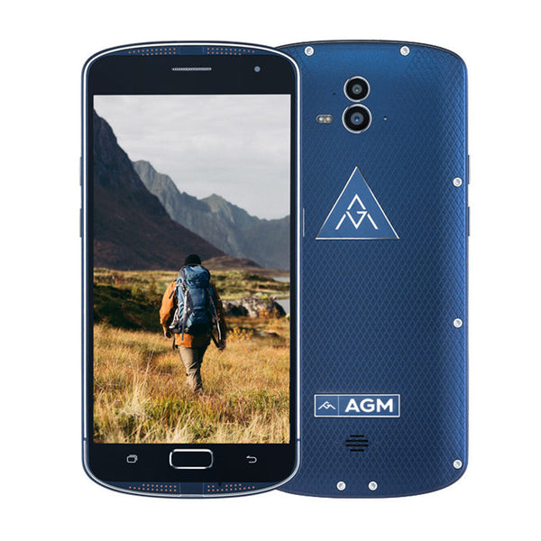 AGM X1 Snapdragon 617 Octacore 5.5 inch FHD Super Amoled 4GB/64GB Rugged Waterproof - PickeDGadgeT