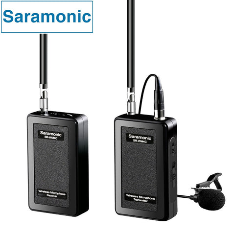 Saramonic Wireless Lavalier Camera Microphone SR-WM4C for DSLR/GoPro/Hero 4 3 3+ Action - PickeDGadgeT