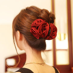 Rose Hair Clip - PickeDGadgeT