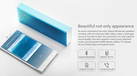 Xiaomi Bluetooth Mini Speaker Wireless Stereo Portable MP3 Player Handsfree Call Support TF Card  3D Subwoofer - PickeDGadgeT