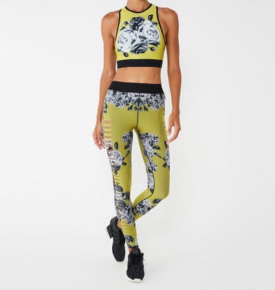 Altitude Silk Posey Print Crop Top - Exclusive Offer-thumbnail