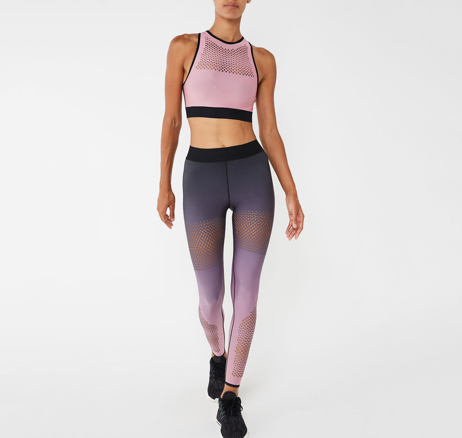 Altitude Silk Ultramesh Crop Top