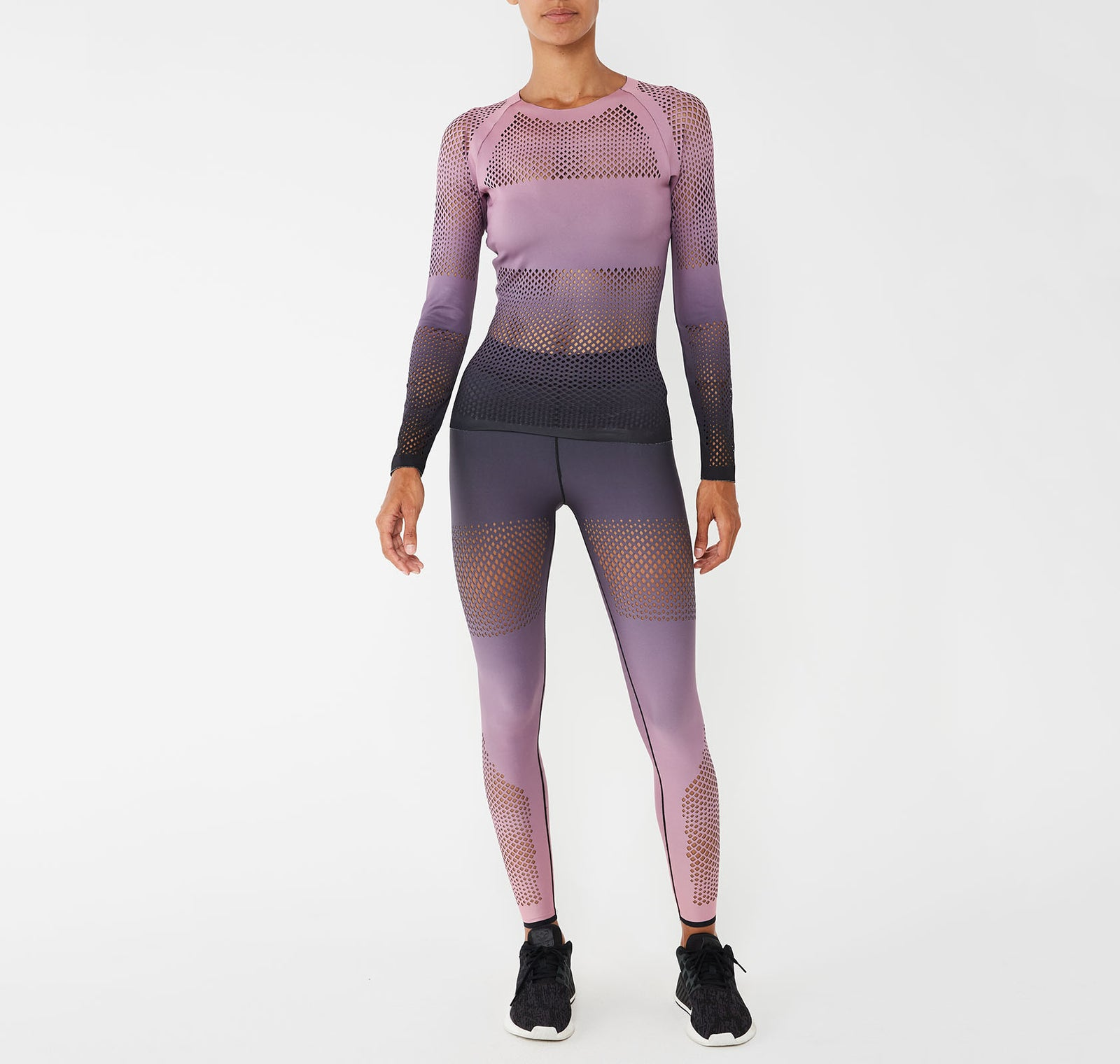 Velocity Silk Ultramesh Top
