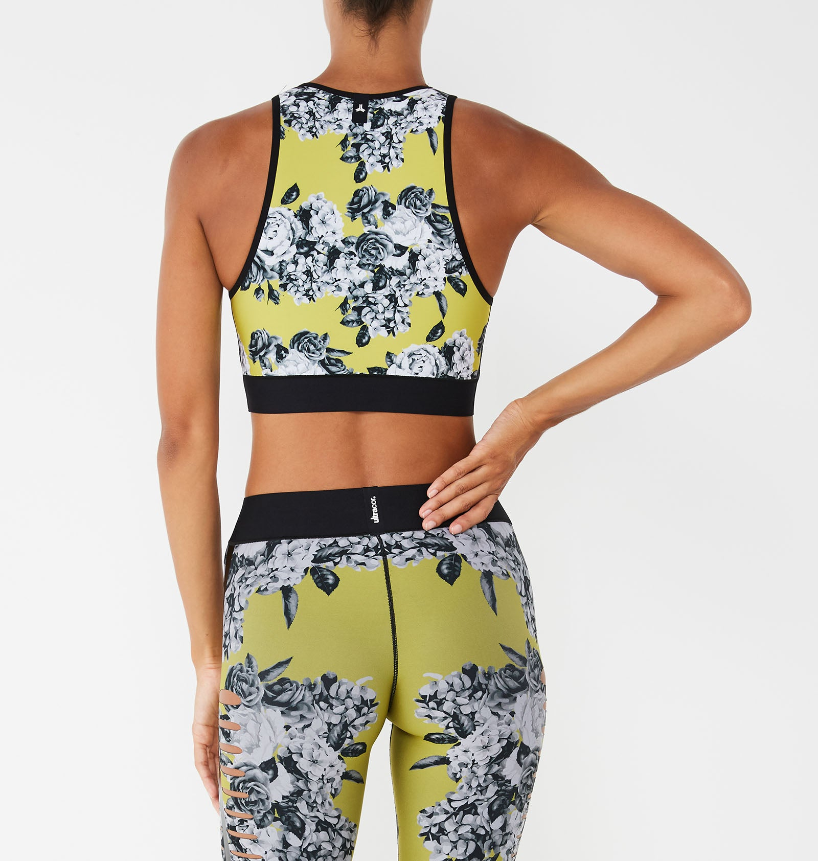 Altitude Silk Posey Print Crop Top - Exclusive Offer